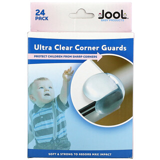 Jool Baby Products, Ultra Clear Corner Guards, 24 Count