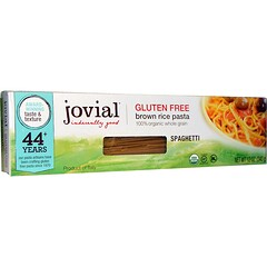 Jovial, Brown Rice Pasta、Spaghetti、12オンス(340 g)