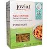 Jovial, Brown Rice Pasta, Penne Rigate, Organic, 12 oz (340 g)