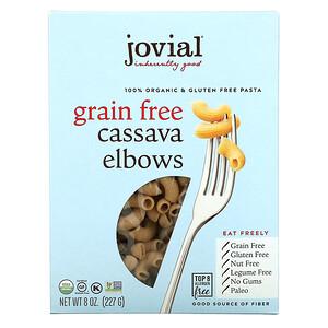 Jovial, Organic Grain Free Cassava Elbows, 8 oz (227 g)'