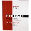 FITJOY, Protein Bar, Frosted Cinnamon Roll, 12 Bars, 2.11 oz (60 g) Each