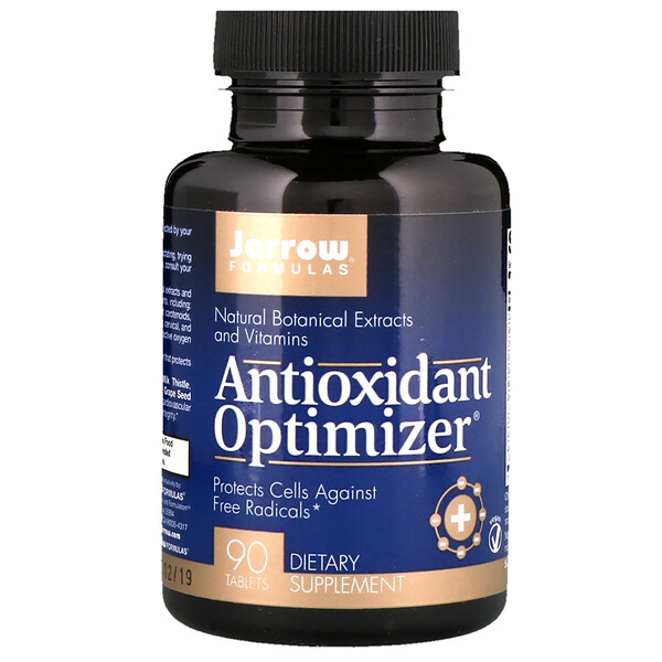Optimizador antioxidante, 90 tabletas