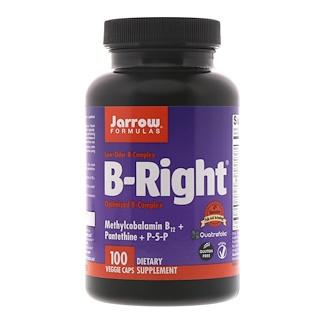 Jarrow Formulas, B-Right, 植物性カプセル100個