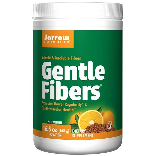 Jarrow Formulas, Gentle Fibers, Soluble & Insoluble Fibers, Powder, 16.5 oz (468 g)