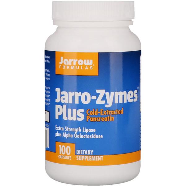 Jarro-Zymes® プラス, 100 カプセル