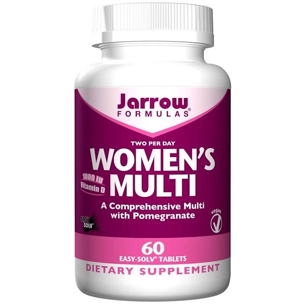 Jarrow Formulas, Women's Multi, 60 Easy-Solv Tablets