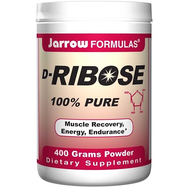 Jarrow Formulas, D-Ribose, 400 g Powder (Discontinued Item)