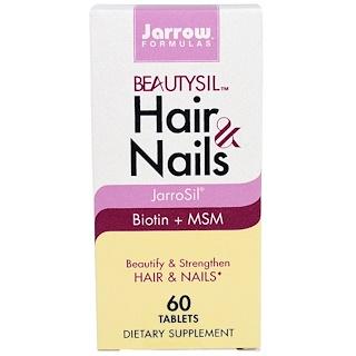 Jarrow Formulas, BeautySil Hair & Nails, 60 Tablets