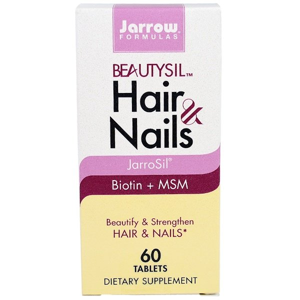 Jarrow Formulas, BeautySil Hair & Nails, 60 Tablets (Discontinued Item)