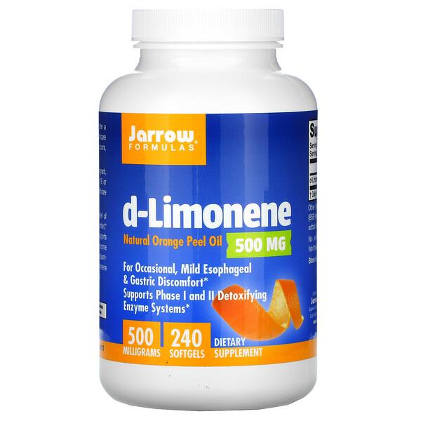 d-Limonene, 500 mg, 240 Softgels