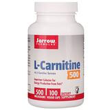 Отзывы о Jarrow Formulas, L-Carnitine 500, 500 mg, 100 Veggie Caps