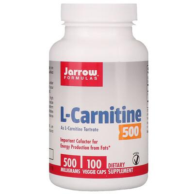 L-карнитин500, 500мг, 100растительных капсул ацетил l карнитин 500 мг 60 растительных капсул