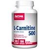 Jarrow Formulas, L-カルニチン500、500 mg、カプセル 100 錠