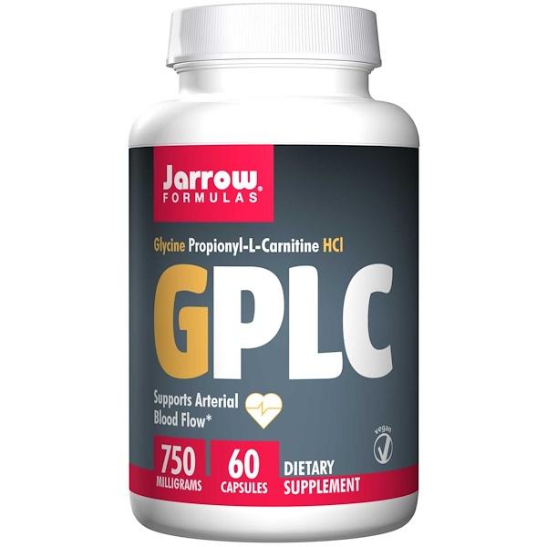 Jarrow Formulas, GPLC, GlycoCarn, 60 Veggie Caps (Discontinued Item)