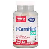 Отзывы о Jarrow Formulas, L-карнитин, 500 мг, 100 вегетарианских капсул