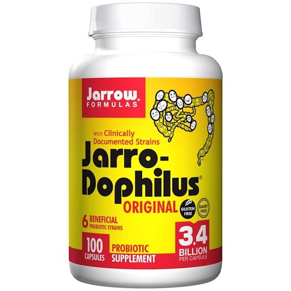 Jarrow Formulas, Jarro-Dophilus, Original, 100 Capsules (Ice)  (Discontinued Item)