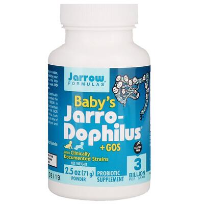 Купить Baby's Jarro-Dophilus + GOS, Powder, 2.5 oz (71 g)