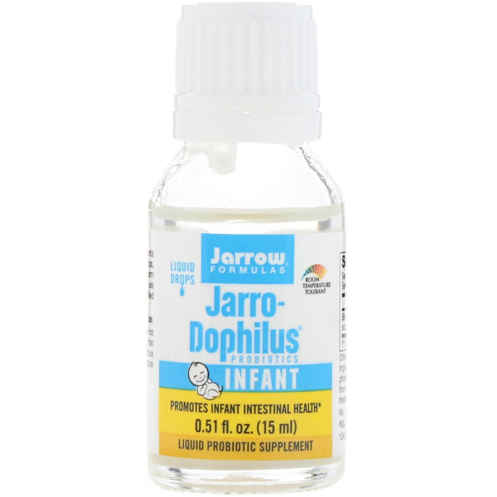 Jarrow Formulas Jarro Dophilus Probiotics Liquid Drops