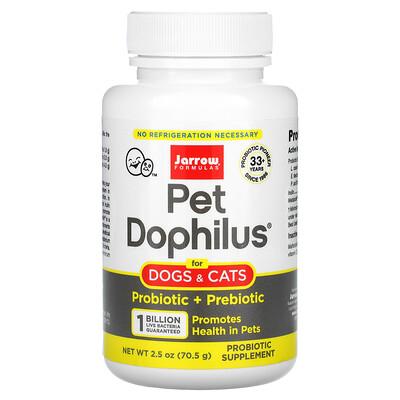 Купить Jarrow Formulas PetDophilus, 70, 5г (2, 5унции)