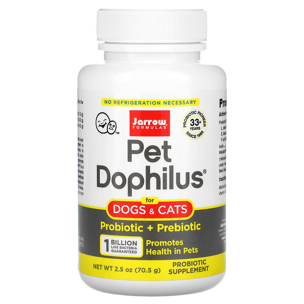 Pet Dophilus, 2.5 oz (70.5 g)
