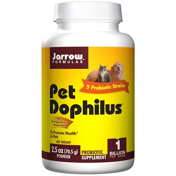Jarrow Formulas, Pet Dophilus, 1 Billion, 2.5 oz (70.5 g) Powder