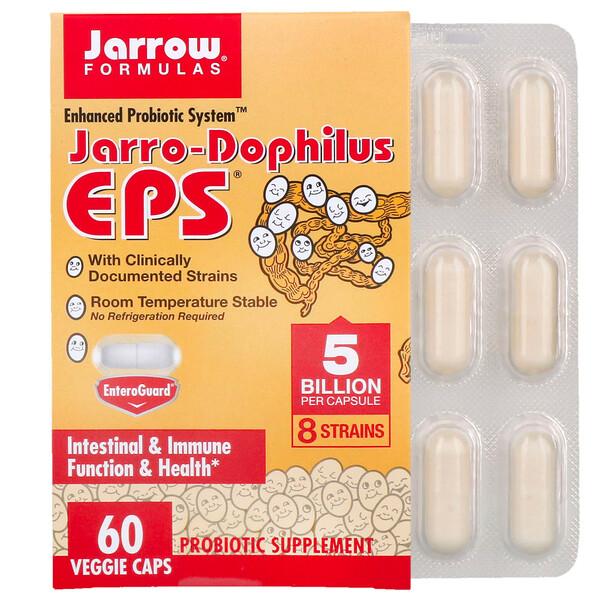 Jarro-Dophilus EPS، عدد 5 مليار، 60 كبسولة نباتية