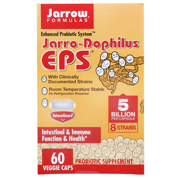 Jarrow Formulas, Jarro-Dophilus EPS, 5 Billion, 60 Veggie Caps