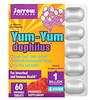 Jarrow Formulas, Yum-Yum Dophilus Sugar-Free!, Natural Raspberry Flavor, 60 Chewable Tablets (Ice)