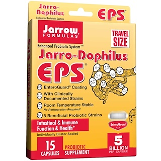 Jarrow Formulas, Jarro-Dophilus EPS, 5 Billion, 15 Veggie Caps