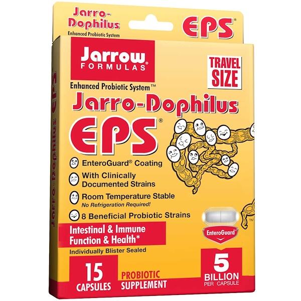 Jarrow Formulas, ジャロー・ドフィウスEPS, 植物性カプセル15粒