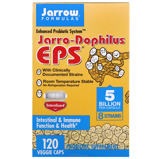Jarrow Formulas, Jarro-Dophilus EPS, 5млрд клеток, 120растительных капсул