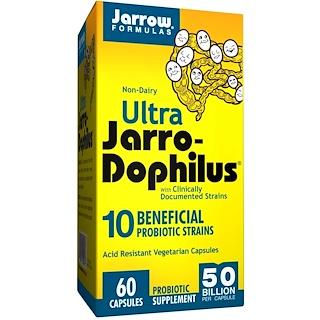 Jarrow Formulas, Ultra Jarro-Dophilus, 60 Capsules
