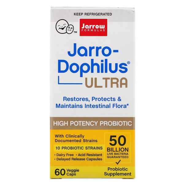 Jarro-Dophilus Ultra, 50 Billion , 60 Veggie Caps