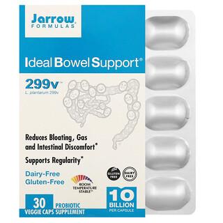 Jarrow Formulas, IdealBowelSupport, 299v, 10.000millones, 30cápsulas vegetales