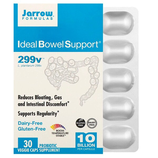 Ideal Bowel Support, 299v, 10 Billion, 30 Veggie Caps