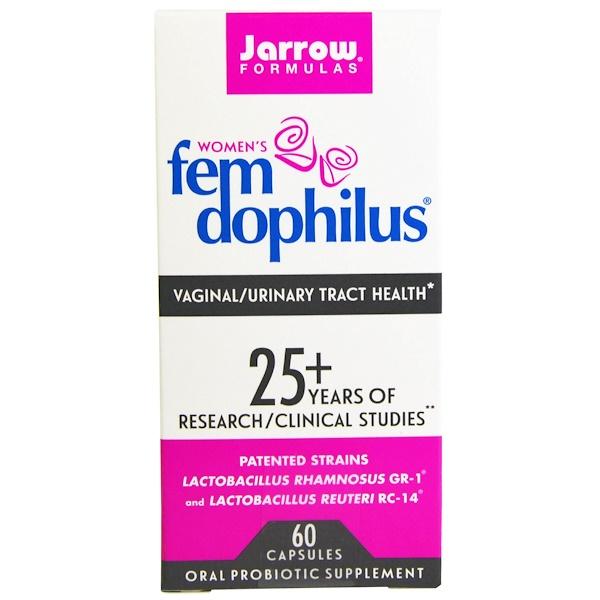 Jarrow Formulas, FemDophilus, 60 капсул (Ice)