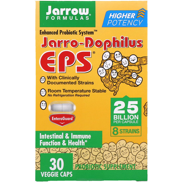 Jarrow Formulas, Jarro-Dophilus EPS, 25 Billion, 30 Veggie Caps
