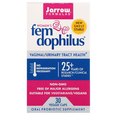 Купить Jarrow Formulas Fem Dophilus для женщин, 30 растительных капсул