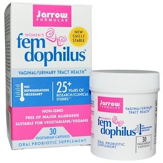 Jarrow Formulas, Women's Fem Dophilus, 30 Vegetarian Capsules
