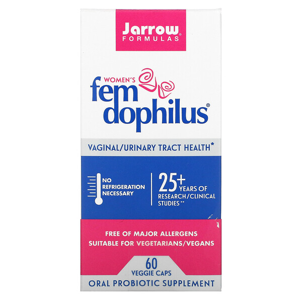 Jarrow Formulas, Fem Dophilus לנשים, 60 כמוסות צמחיות