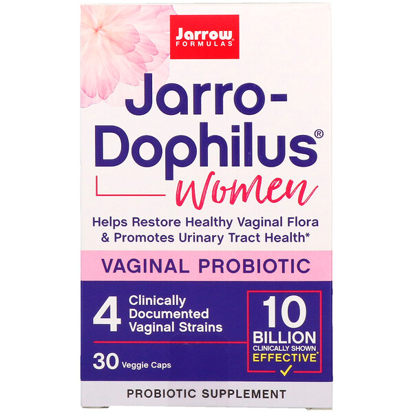 Jarro-Dophilus, Vaginal Probiotic, Women, 10 Billion, 30 Capsules