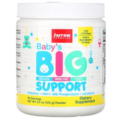 Jarrow Formulas Baby's Brain, Immune & Gut Support, 4.3 oz (123 g)