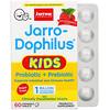 Jarrow Formulas, Jarro-Dophilus Kids, Probiotic + Prebiotic, Sugar Free, Natural Raspberry Flavor, 1 Billion Live Bacteria, 60 Chewable Tablets