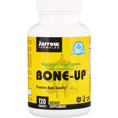 Jarrow Formulas Bone-Up with Calcium Citrate, 120 Tablets