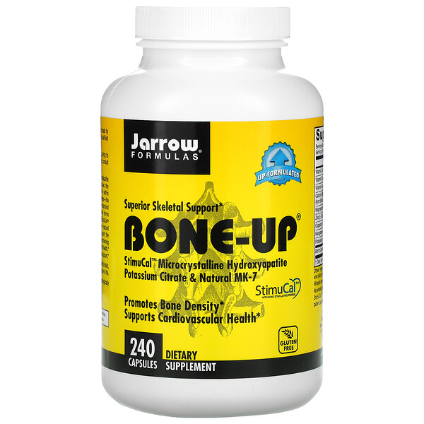Jarrow Formulas, Bone-Up 強骨膠囊,240 粒