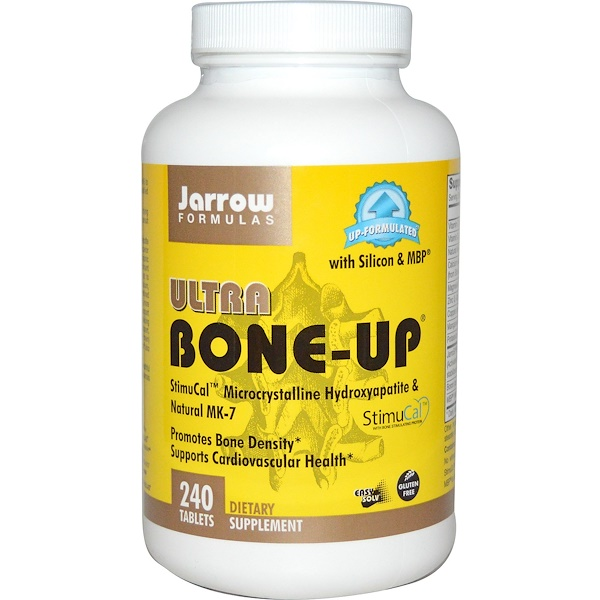 Jarrow Formulas, Ultra Bone-Up, 240 Easy-Solv Tablets