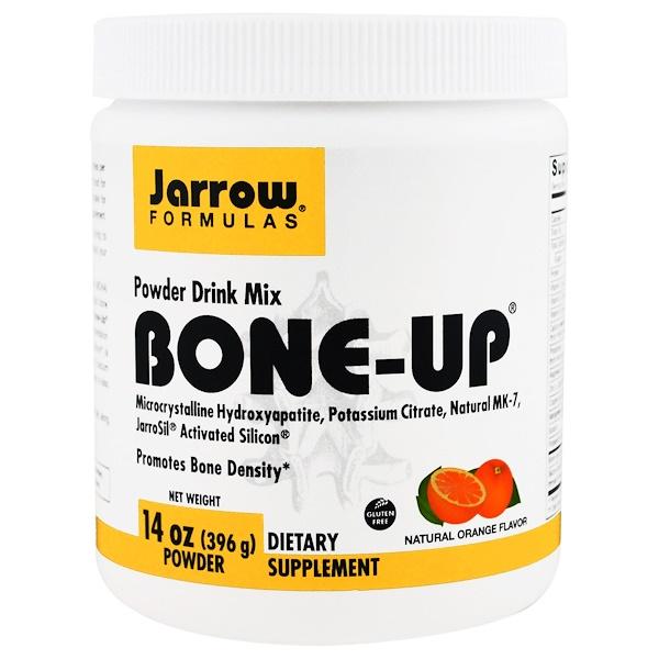Jarrow Formulas, Bone-Up Powder Drink Mix, Natural Orange Flavor, 14 oz (396 g) (Discontinued Item)