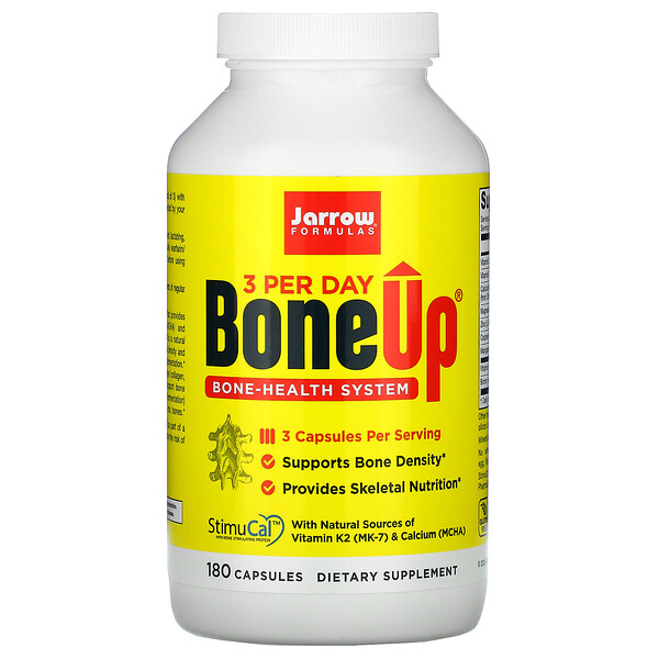 Jarrow Formulas, Bone-Up, 180 Capsules