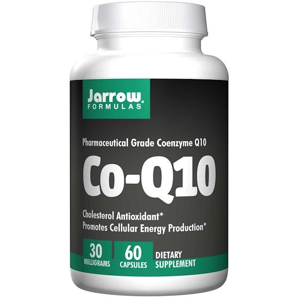 Jarrow Formulas, Co-Q10, 30 mg, 60 Capsules (Discontinued Item)