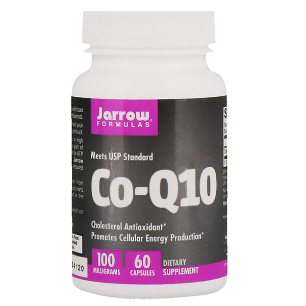 "Jarrow Formulas, Co-Q10, ‏100 מ""ג, 60 קפסולות"